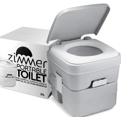 Zimmer Comfort Portable 5-Gallon Camping Toilet