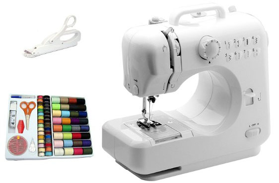 Michley-Tivax Lil_ Sew _ Sew LSS-505 Combo Mini Sewing Machine, Electrical Scissors