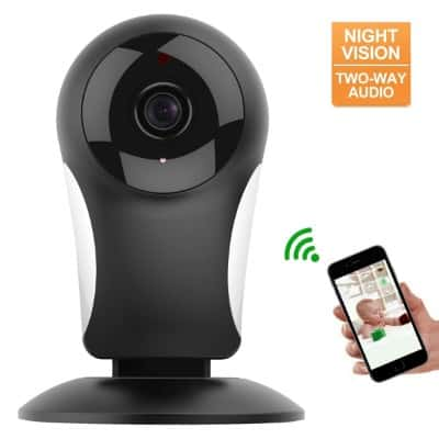 Home Security Camera System, HOCOSY HD 960P Wireless IP Camera Support 2.4GHz
