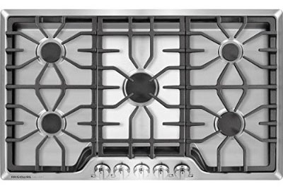 Frigidaire FGGC3645QS 36-inch Gas Cooktop, Stainless Steel