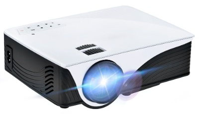 GYMAN Projector LCD Projector, 2000 Lumens