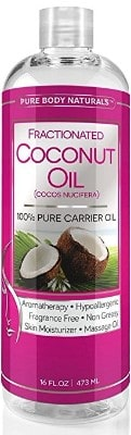 Pure Body Naturals Pure Coconut Oil, 16 Oz.
