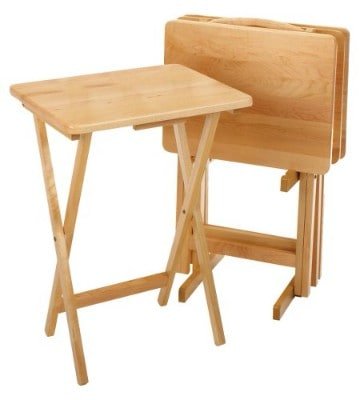 Winsome Wood 42520 Alex Snack Table, Natural