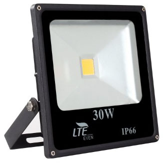 LTE 30W Super Bright LED Flood Lights, 2280 Lumen