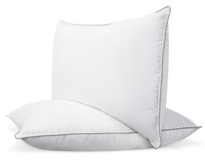 Beckham Hotel Collection Premium 100% Cotton Shell Luxury Down Feather Pillow