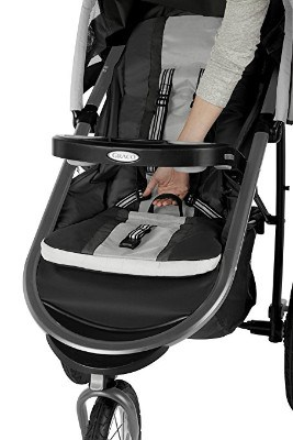 Graco Fastaction Fold Jogger Click Connect Baby Stroller, Gotham