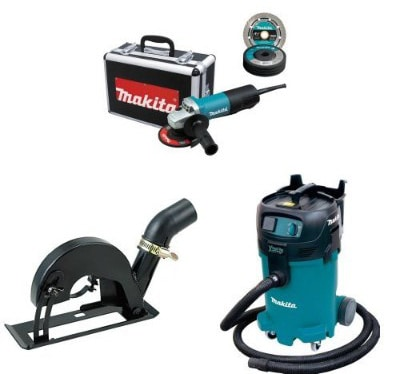 Makita 9557PBX1 4-1:2-Inch Angle Grinder with Aluminum Case