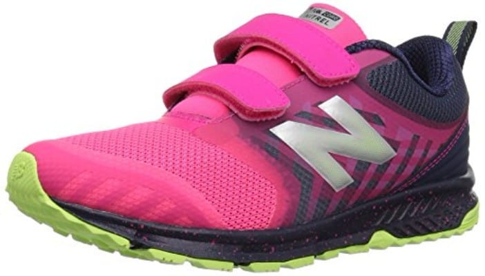 New Balance Kids' Fuelcore Nitrel Hook and Loop Trail Running Shoe