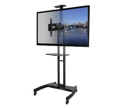 Kanto MTM65PL Portable TV Stand with Mount (37- 65 inch Flat TV Screens)
