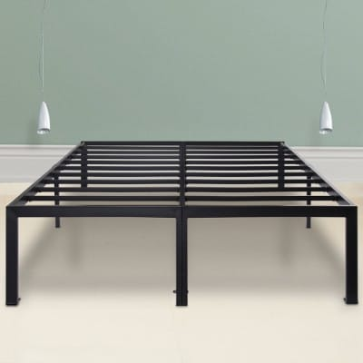 Sleeplace SVC18BF04C 18 Inch Heavy Duty Steel Bed Frame