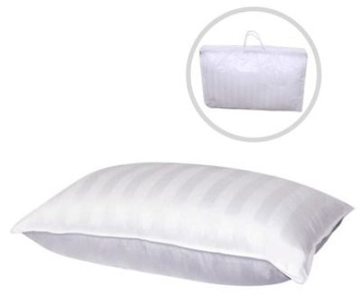 Continental Bedding Hungarian Goose down Pillow, White
