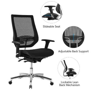 LCH Adjustable Mesh Office Chair