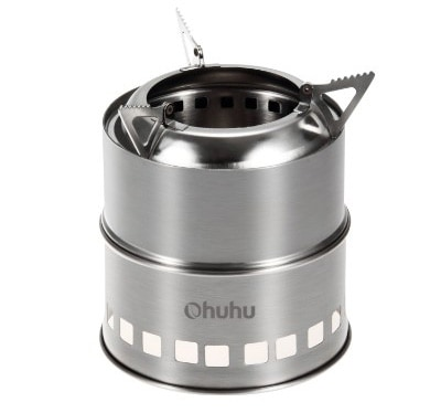 Ohuhu Portable Stainless Steel Camping:Backpacking Stove