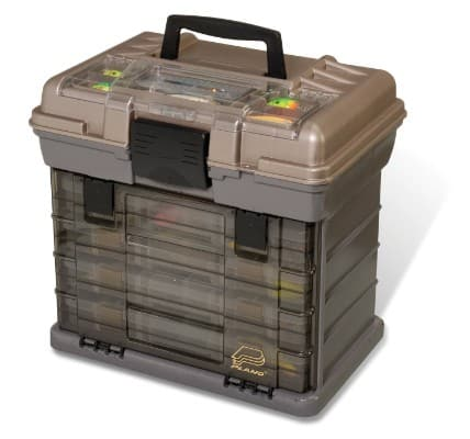 Plano 1374 4-By Rack 3700 Size Tackle Box