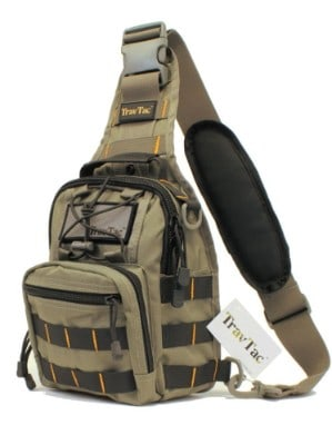 TravTac Stage II Premium EDC Tactical Sling Pack