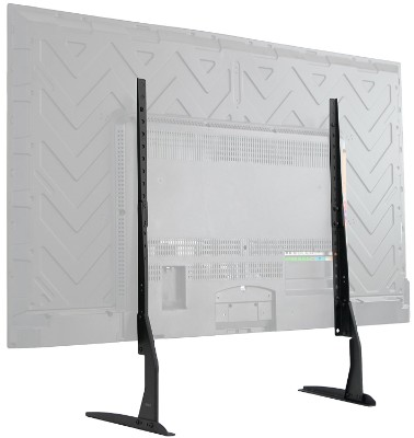 VIVO Universal LCD, LED, Plasma Flat Screen TV Table Top Mount Stand (22-65 inch) Black