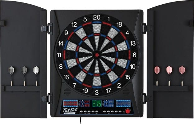 Fat Cat Electronx Soft Tip Electronic Dartboard