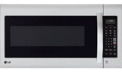 LG LMV2031ST 2.0 Cubic Feet Stainless Steel Over-The-Range Microwave Oven