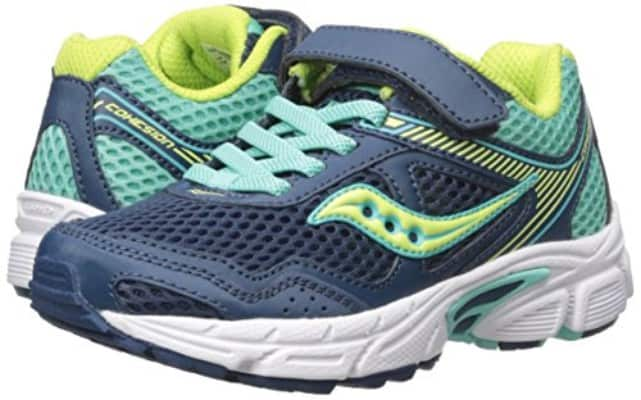 Saucony Cohesion 10 Lace Running Shoe (Little Kid:Big Kid)