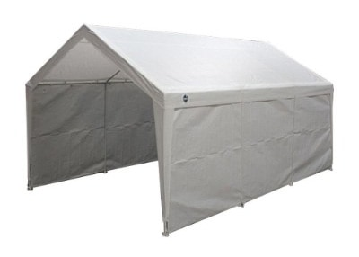 True Shelter Car Canopy Gazebo Tent Cover, 10 x 20 feet