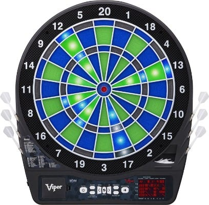 Viper Ion Illuminated Soft-Tip Electronic Dartboard