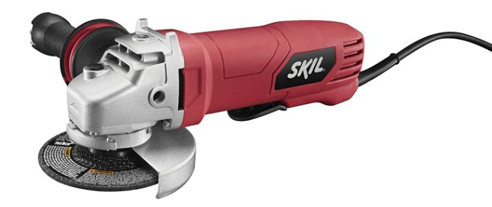 SKIL 9296-01 7.5-Amp 4-1:2-Inch Paddle Switch Angle Grinder