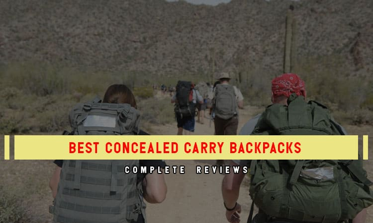 The 8 Best Concealed Carry Backpacks – In 2021 Review