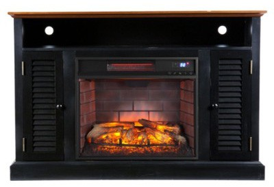 Infrared Electric Fireplace TV Stand