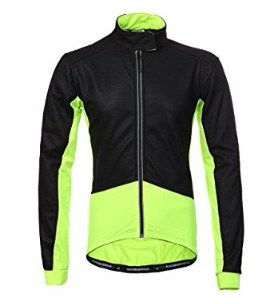 Maks Long Sleeve Thermal Cycling Firewall Winter Jacket, Fluorescent Yellow
