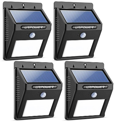 URPOWER Solar Outdoor Motion Sensor Lights