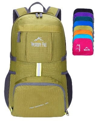 2 Venture Pal Lightweight Packable Durable Travel Hiking Backpack Daypack f71a9db11aa87