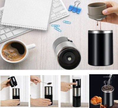Madoats Portable Rechargeable Coffee Grinder