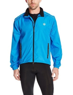 Canari Cyclewear Men's Razor Convertible Jacket for men, Breakaway Blue