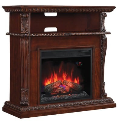 ClassicFlame 23DE1447-C233 Corinth Wall or Corner TV Stand