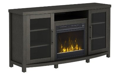 Pamari 208268 Milena Stand with Electric Fireplace