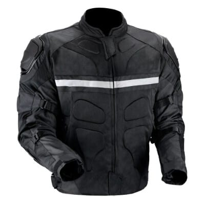 Viking Cycle Stealth Men's Motorcycle Jacket (2X-Large)