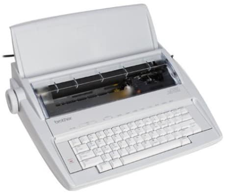Brother GX-6750 Daisy Wheel Typewriter, Electric