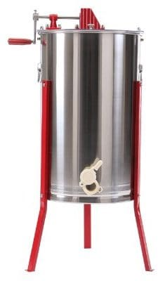Ridgayard Manual Honey Extractor Honeycomb Spinner 3 Frame Stainless Steel