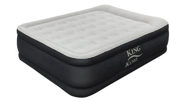 King Koil Luxury Raised Air Mattress, Queen