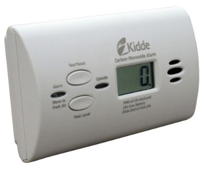 Kidde Battery-Operated Carbon Monoxide Detectors and Alarm with Digital Display