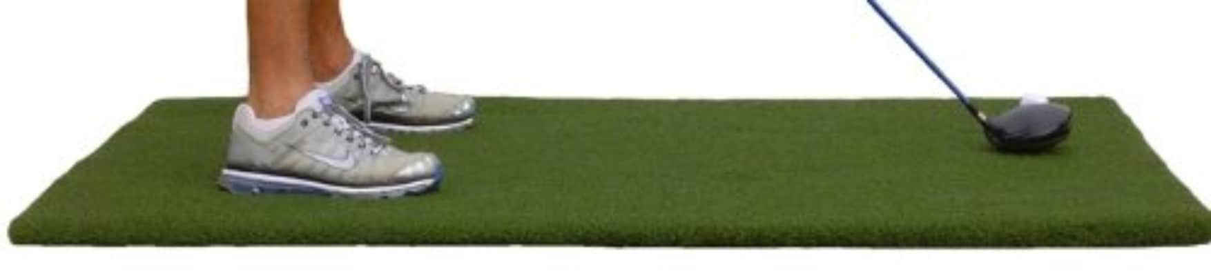 36 X 60 XL Super Tee Golf Mat - Holds A Wooden Tee