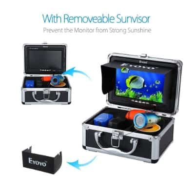 Eyoyo Color LCD Waterproof Underwater Fishing Video, 15m