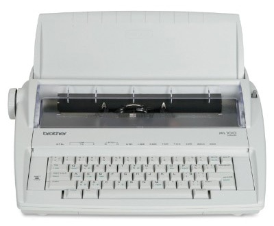 Brother ML-100 Daisy Wheel Typewriter, Electronic