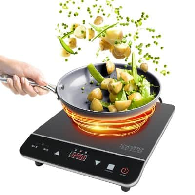 Cosmo 1800-Watt Portable Induction Cooktop, COS-YLIC1, 1800W