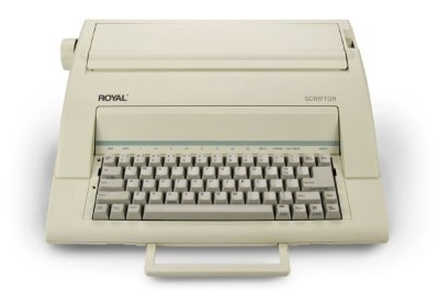 Royal Scriptor Portable Electronic Typewriter (69149V)