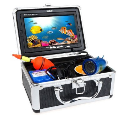 BOBLOV 7 Inch 30m IR Underwater Video Fishing Camera Equipment