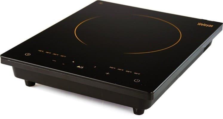 Weleyas Portable Electric Induction Cooktop, 1800W
