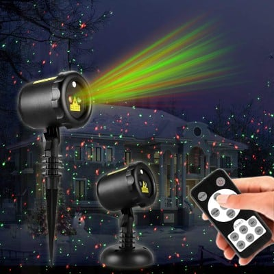 Christmas Laser Lights,Outdoor Projector lights