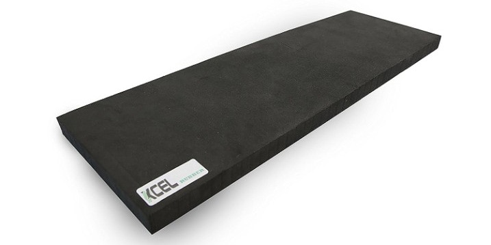 Xcel Yoga Knee Pad - Large Exercise Pad for Knee, Elbow and Wrist Comfort