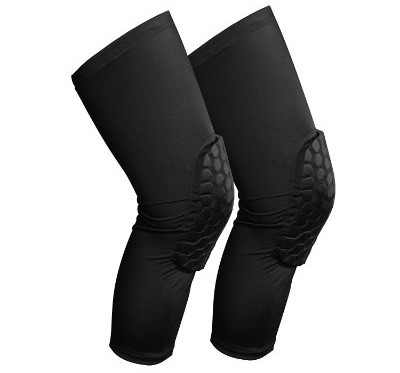 VANSU Honeycomb Knee Pads for Basketball Volleyball Running Football